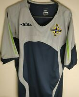 Classic Northern Ireland Football Nationwide Training Top Umbro Adults  - Large