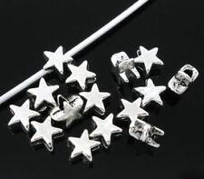 Metallische, metalle Stern-Perlen