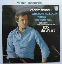 9500 302 - RACHMANINOV - Symphony NO 3 de WAART Rotterdam PO - Ex Con LP Record