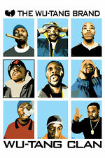 RAP GROUP WU TANG CLAN WU-TANG BRAND POSTER NEW 24x36 FAST FREE SHIPPING