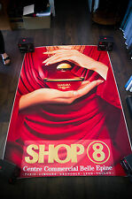 GUERLAIN SAMSARA GIOVANNI CASTEL 4x6 ft Shelter Original Vintage Fashion Poster