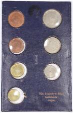 1956 Nepal Mahendra Bir Bikram Mint Set 7 Coins Coronation Coin Set