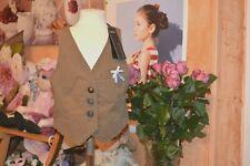 veste gilet neuf ikks avec noeud doublee 6 ans cocarde sur le cote