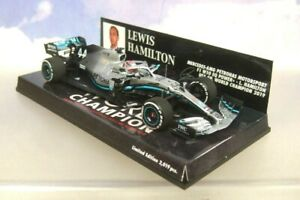 Minichamps 1/43 Mercedes-Amg Petronas F1 W10 USA Gp #44 Lewis Hamilton 2019