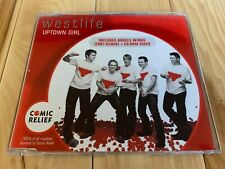 Westlife Uptown Girl UK CD Single 2001 3 Tracks Ex