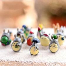 12 pcs / Set My Neighbor Totoro Mini Figure Diy Moss Micro Landscape Gift ToysR0