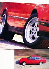 1991 BMW Dinan 535i Turbo Sedan 5-Series Original Car Review Print Article J38