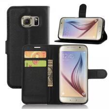 Samsung Galaxy S7 G930 Cartera Funda Cover Flip Wallet Case bolsa Carcasa Negro