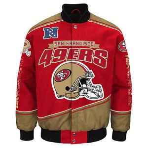 San Francisco 49ers NFL Enforcer Jacket - Size Adult Medium Free Ship