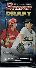2016 Bowman Draft Baseball Jumbo Guaranteed Autographed Rc Card Hot Pack