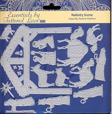 TATTERED LACE Cutting Die Set - NATIVITY SCENE Christmas Camels 3 Kings