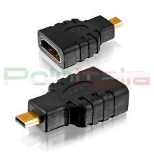 Adattatore da HDMI femmina A MICRO tipo D maschio   connettore convertitore cavo