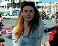 Stacey DOOLEY TV Presented Journalist SIGNED Autograph 10x8 Photo 11 AFTAL COA