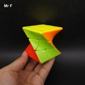 Colorful Twisty Magic Cube Stickerless Puzzle Strange Twist Game Brain Teaser