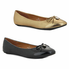 Flat (less than 0.5') Unbranded Ballerinas for Women
