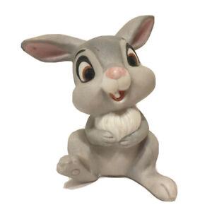 Walt Disney Productions Porcelain Bambi's Thumper Figure Bunny Rabbit Figurine
