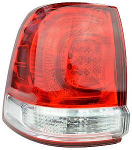 Tail Light For Toyota Landcruiser 08/07-02/12 New Left Rear Lamp 200 08 09 10 11