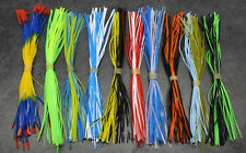 Spinnerbait Skirts, Octo Jig Skirts, X10, 50 STRAND Replacement skirts