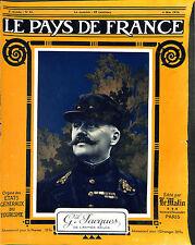 Général Jacques Jules Marie Alphonse Jacques de Dixmude Congo Belge  1916 WWI
