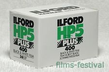 10 rolls ILFORD HP5 400 Plus Black and White Film 35mm 36exp