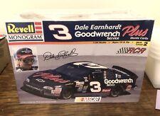 3 Fake Earnhardt Goodwrench NASCAR 1:24 Scale Model Revell Monogram Model NIB