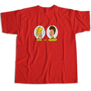 Beavis and Butthead 90s Classic Cartoon Fun Mens Womens Kids Unisex Tee T-Shirt