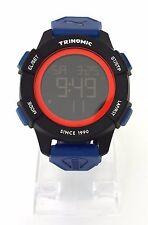 Puma Herren Uhr Trinomic Chronograph blau schwarz rot Nylon Digital PU911271002