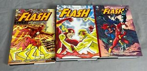 Flash Geoff Johns Omnibus Vol 1 2 3 Set Lot Of 3 Hardcover Books DC Comics OOP