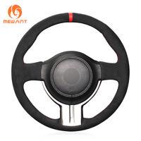 Black Suede Steering Wheel Cover for Toyota 86 2012-2015 Subaru BRZ 2012-2015