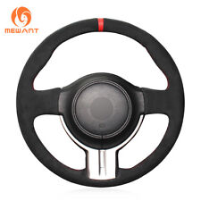 Black Suede Steering Wheel Cover for Scion FR-S FRS Subaru BRZ Toyota 86