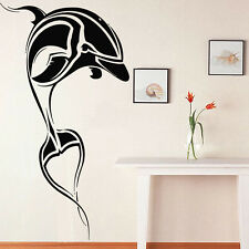 Wall Room Decor Art Vinyl Sticker Mural Decal Tribal Dolphin Sea Ocean FI733