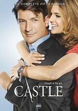 CASTLE SEASON 5 DVD - THE COMPLETE FIFTH SEASON [5 DISCS] - NEW UNOPENED