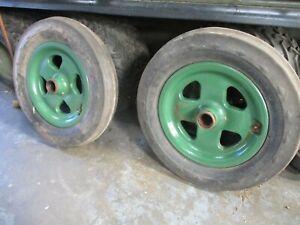 Fordson Model N (and E27N) Early Wheels