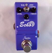 ROWIN NANO ECHO DELAY GUITAR EFFECTS PEDAL WITH TRUE BY-PASS - SMALL SIZE
