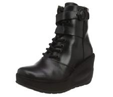 Fly London Women's Jabi070fly Ankle Boots Black Size UK 8