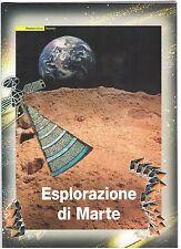 """2005 Italia/Italy Folder Esplorazione di Marte """"Logo Asi"""" Rosa MNH**"""