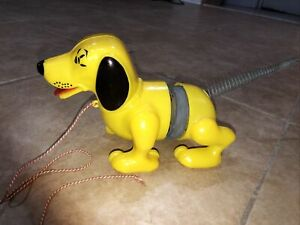 Vintage 1957 Slinky Dog James Industries In Original Box Toy Story Pull Toy