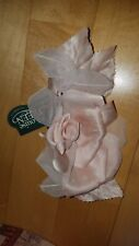 Louise Green Pink Flower Pin and Vintage Millinery Hat Supplies