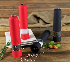 NOVA 2PC SALT AND PEPPER GRINDER SET MILLS SHAKERS BATTERY OPERATED ASSORTED