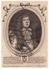 Portrait XVIIe Cosme III de Médicis Cosimo III de' Medici Granduca di Toscana