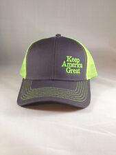 Trump Keep America Great Hat KAG Neon Yellow Brand New Cap  MAGA USA