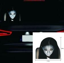 Car High Beam Reflective Ghost Sticker Decal Wrap Rear Windshield Decoration