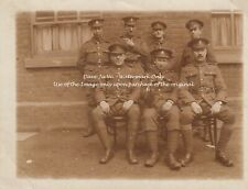 RPC Postcard: WW1 - A Location Group Portrait of Royal Army Medical Corps (RAMC)
