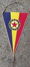 1975 AC Sparta Prague Praha CKD Czechoslovakia Football Club Signed Pennant Flag