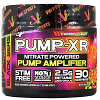 VMI PUMP-XR Pre-Workout Stim Free Pump Energy Powder 30 Servings 5 FLAVORS