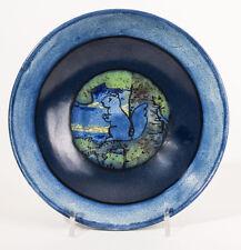 Paul Revere S.E.G Arts & Crafts Pottery Squirrel Bowl