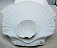 "Bentson West Boston Warehouse Design Dip Platter Serving Bowl Shell Portugal 14"""
