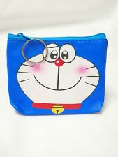 Cute Character Face Coin Purse - Doraemon
