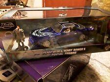 IT Pennywise and Henry Bowers 1977 Pontiac Firebird 1:24 Jada 31118