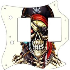 Gibson SG Double Pickguard Custom Graphical Guitar Pick Guard Pirate 1 AW